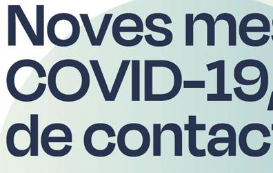 REDUCCIÓ CONTACTE SOCIAL COVID-19