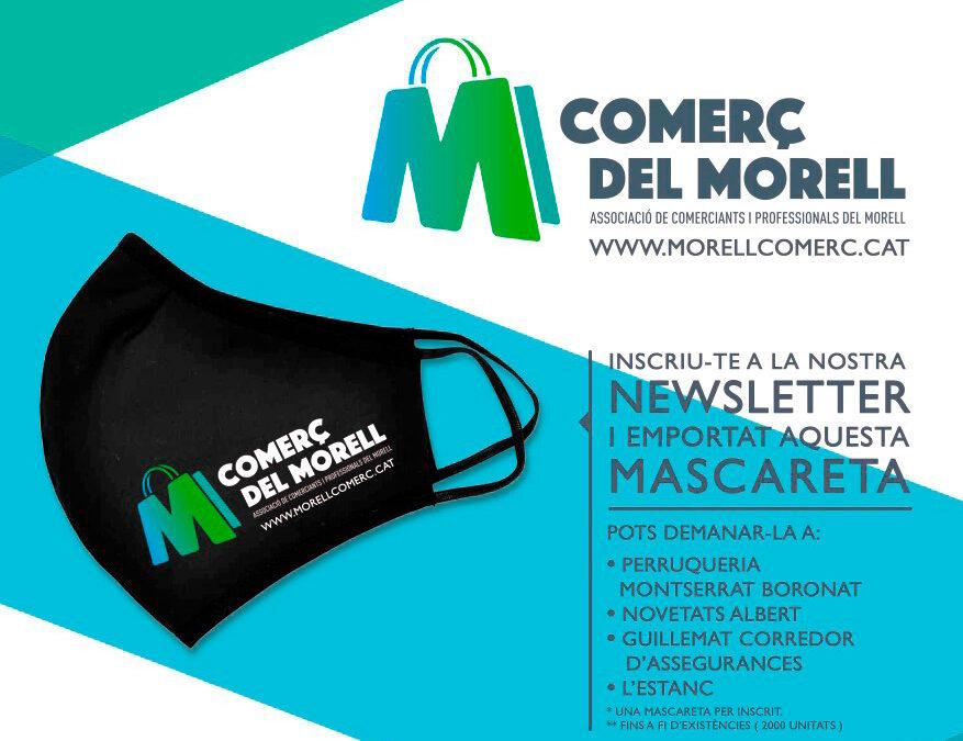 COMERÇ DEL MORELL – CAMPANYA MASCARETA