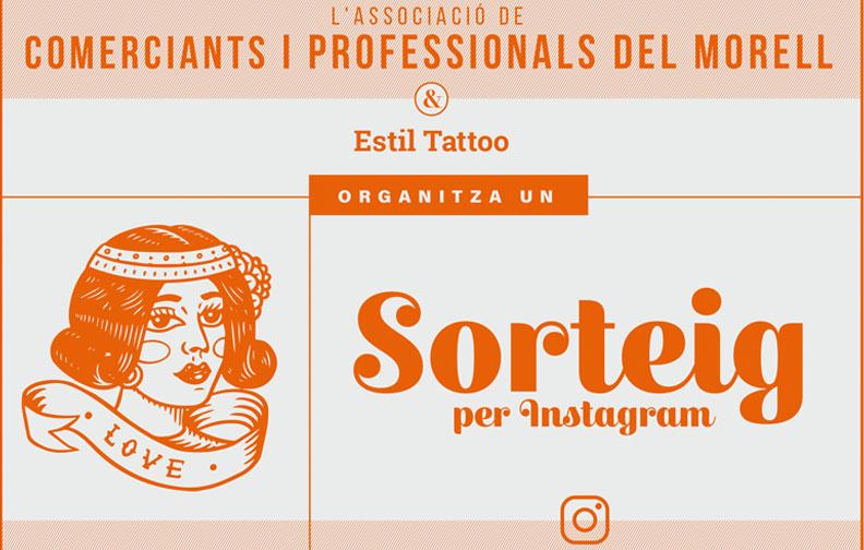 L'Associació & Estil Tattoo organitzen un sorteig per Instagram